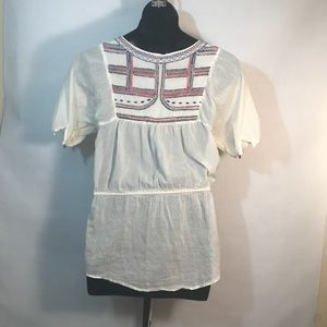 Forever 21 Tops - 🔴 Forever 21 Small 100% Cotton Tribal Sheer Tunic